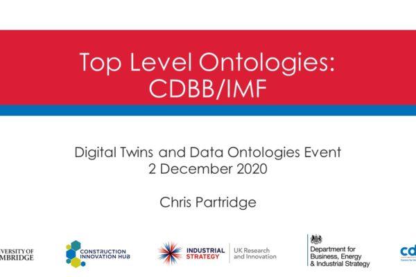 Chris Partridge's presentation